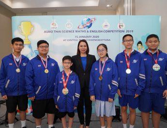 เด็กไทย ครองที่ 1 รางวัลรวมในเอเชีย บนเวทีการแข่งขันวิทย์ – คณิตระดับนานาชาติ