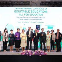 ไทย จับมือ นานาชาติ ชวนทั่วโลกเดินหน้า AllFor Education เร่งแก้ความเหลื่อมล้ำทางการศึกษา