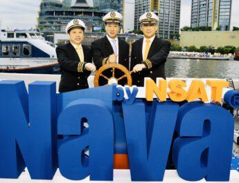 """""""NAVA by NSAT"""" บริการดิจิทัลผ่านดาวเทียมเพื่อการสื่อสารทางทะเล"""